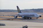 ANA744Foreverさんが、成田国際空港で撮影したシンガポール航空 A380-841の航空フォト(写真)