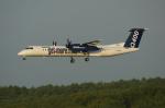 北の熊さんが、新千歳空港で撮影したボンバルディア DHC-8-402Q Dash 8の航空フォト(写真)