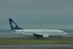 snow_shinさんが、オークランド空港で撮影したニュージーランド航空 737-319の航空フォト(写真)