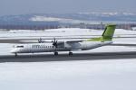 北の熊さんが、新千歳空港で撮影したエア・バルティックの航空フォト(写真)