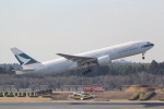 ANA744Foreverさんが、成田国際空港で撮影したキャセイパシフィック航空 777-267の航空フォト(写真)