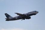 ANA744Foreverさんが、成田国際空港で撮影したオーロラ A319-111の航空フォト(飛行機 写真・画像)