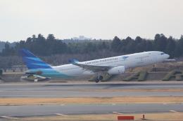 ANA744Foreverさんが、成田国際空港で撮影したガルーダ・インドネシア航空 A330-243の航空フォト(飛行機 写真・画像)