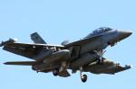 take_2014さんが、厚木飛行場で撮影したアメリカ海軍 F/A-18E Super Hornetの航空フォト(写真)