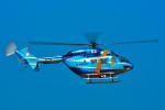 パンダさんが、熊本空港で撮影した熊本県警察 BK117B-2の航空フォト(写真)
