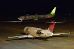 パンダさんが、熊本空港で撮影したジェイ・エア CL-600-2B19 Regional Jet CRJ-200ERの航空フォト(飛行機 写真・画像)