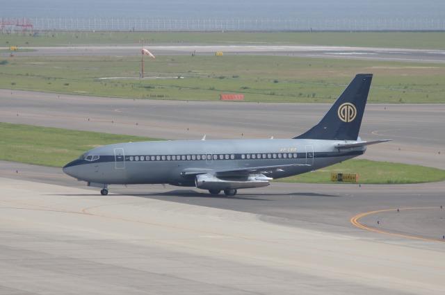 Wings Flapさんが、中部国際空港で撮影したスカイ・アヴィエーション 737-2W8/Advの航空フォト(飛行機 写真・画像)
