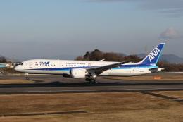 ぽんさんが、高松空港で撮影した全日空 787-9の航空フォト(飛行機 写真・画像)