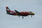 北の熊さんが、新千歳空港で撮影したメサバ航空 340Bの航空フォト(写真)