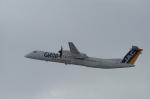北の熊さんが、新千歳空港で撮影した日本エアコミューター DHC-8-402Q Dash 8の航空フォト(写真)