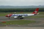 北の熊さんが、新千歳空港で撮影したエーデルワイス航空 A330-223の航空フォト(写真)