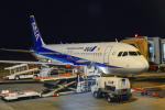 パンダさんが、熊本空港で撮影した全日空 A320-211の航空フォト(写真)
