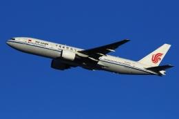 KRN6035さんが、成田国際空港で撮影した中国国際航空 777-2J6の航空フォト(写真)