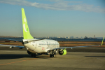 パンダさんが、羽田空港で撮影したソラシド エア 737-81Dの航空フォト(飛行機 写真・画像)