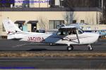 Chofu Spotter Ariaさんが、調布飛行場で撮影したアイベックスアビエイション 172S Skyhawk SPの航空フォト(飛行機 写真・画像)