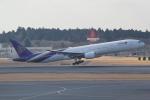 ANA744Foreverさんが、成田国際空港で撮影したタイ国際航空 777-3D7の航空フォト(写真)