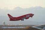 北の熊さんが、新千歳空港で撮影したサハリン航空 737-5L9の航空フォト(飛行機 写真・画像)
