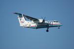 北の熊さんが、新千歳空港で撮影したサハリン航空 DHC-8-201Q Dash 8の航空フォト(飛行機 写真・画像)