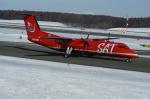 北の熊さんが、新千歳空港で撮影したサハリン航空 DHC-8-315Q Dash 8の航空フォト(写真)