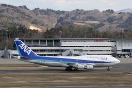 ミンミンさんが、福島空港で撮影した全日空 747-481(D)の航空フォト(飛行機 写真・画像)