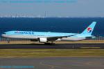 Chofu Spotter Ariaさんが、羽田空港で撮影した大韓航空 777-3B5の航空フォト(飛行機 写真・画像)