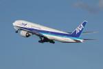 アイスコーヒーさんが、羽田空港で撮影した全日空 777-281の航空フォト(飛行機 写真・画像)