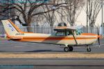 Chofu Spotter Ariaさんが、調布飛行場で撮影した北海道フライトサービス 172P Skyhawk IIの航空フォト(飛行機 写真・画像)