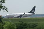 北の熊さんが、新千歳空港で撮影したコンチネンタル航空 737-724の航空フォト(写真)