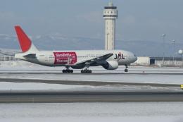 北の熊さんが、新千歳空港で撮影した日本航空 777-246の航空フォト(飛行機 写真・画像)