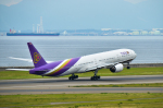 パンダさんが、中部国際空港で撮影したタイ国際航空 777-3D7の航空フォト(飛行機 写真・画像)