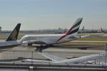 snow_shinさんが、シドニー国際空港で撮影したエミレーツ航空 A380-861の航空フォト(写真)