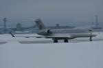 北の熊さんが、新千歳空港で撮影したカタールアミリフライト BD-700-1A10 Global Expressの航空フォト(飛行機 写真・画像)