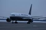 北の熊さんが、新千歳空港で撮影したノースアメリカン航空 767-36N/ERの航空フォト(写真)