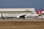 tsubasa0624さんが、成田国際空港で撮影したターキッシュ・エアラインズ 777-3F2/ERの航空フォト(写真)
