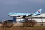 tsubasa0624さんが、成田国際空港で撮影した大韓航空 747-4B5の航空フォト(写真)