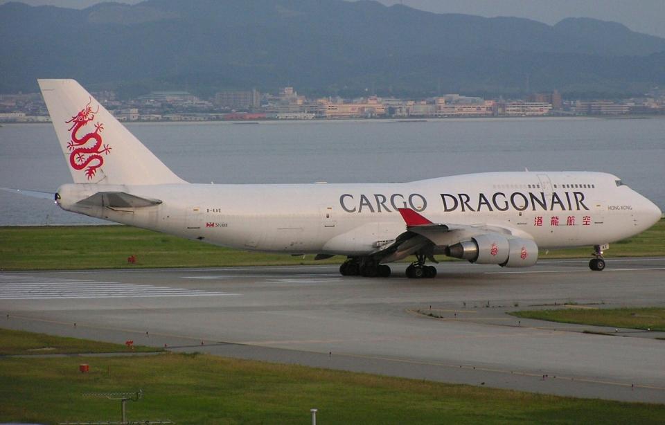 なぁちゃんさんの香港ドラゴン航空 Boeing 747-400 (B-KAE) 航空フォト
