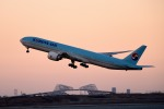 tsubasa0624さんが、羽田空港で撮影した大韓航空 777-3B5/ERの航空フォト(飛行機 写真・画像)