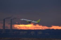 tsubasa0624さんが、羽田空港で撮影したソラシド エア 737-86Nの航空フォト(写真)