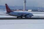 北の熊さんが、新千歳空港で撮影したイースター航空 737-73Vの航空フォト(飛行機 写真・画像)
