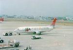 Wasawasa-isaoさんが、名古屋飛行場で撮影した日本トランスオーシャン航空 737-4Q3の航空フォト(写真)