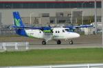 北の熊さんが、新千歳空港で撮影したMASウイングス DHC-6-400 Twin Otterの航空フォト(写真)