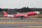 ANA744Foreverさんが、成田国際空港で撮影したエアアジア・エックス A330-343Xの航空フォト(写真)