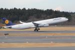 ANA744Foreverさんが、成田国際空港で撮影したルフトハンザドイツ航空 A340-313Xの航空フォト(写真)