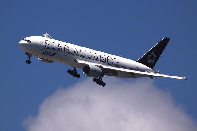 たっきーさんが、羽田空港で撮影した全日空 777-281の航空フォト(飛行機 写真・画像)