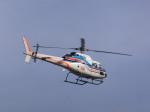 あしゅーさんが、福岡空港で撮影した朝日新聞社 AS355F2 Ecureuil 2の航空フォト(飛行機 写真・画像)