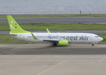 ふじいあきらさんが、羽田空港で撮影したソラシド エア 737-81Dの航空フォト(飛行機 写真・画像)