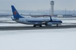 北の熊さんが、新千歳空港で撮影した中国南方航空 737-83Nの航空フォト(飛行機 写真・画像)