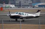 Hitsujiさんが、福岡空港で撮影した日本法人所有 A36 Bonanza 36の航空フォト(飛行機 写真・画像)