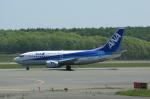 北の熊さんが、新千歳空港で撮影したANAウイングス 737-54Kの航空フォト(飛行機 写真・画像)