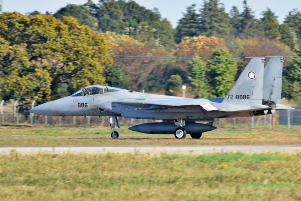 tsubasa0624さんの航空自衛隊 Mitsubishi F-15J Eagle (72-8886) 航空フォト